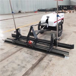 EV850-2T Walk behind Laser screed machine